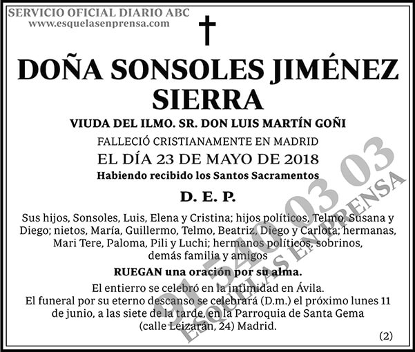 Sonsoles Jiménez Sierra